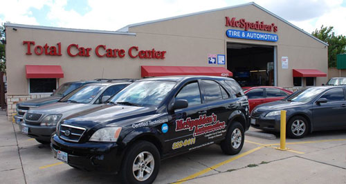 South Congress Frontage | McSpadden's Tire & Automotive
